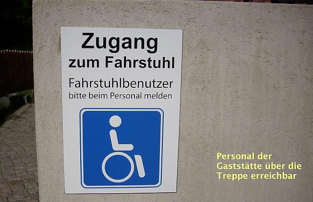 Zugang Brau- und Brennhaus